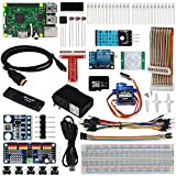 OSOYOO 2017 The Lastest Raspberry Pi 3 Internet Of Things (IOT) Complete Starter Kit with RPi3 Model B Board (23 items)