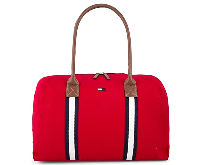 Tommy Hilfiger - Bolso mochila de Lona para mujer azul azul Large: Amazon.es: Ropa y accesorios