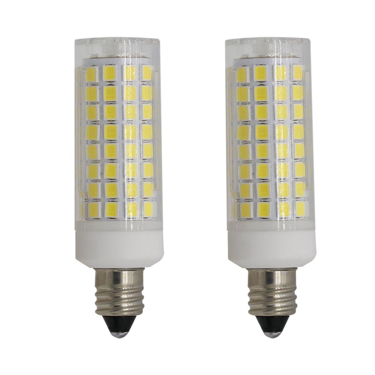e11 led light bulbs dimmable 75w 100w jd mini candelabra base 120v halogen 692763334937 ebay. Black Bedroom Furniture Sets. Home Design Ideas