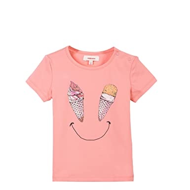 Catimini TS MC Star Flor, T-Shirt Fille, (Vieux ), 5 Ans (Taille Fabricant: 5A)