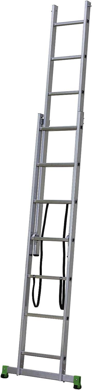 Centaure CLT2 - Escalera transformable (2 Planos, 2m30/3m45): Amazon.es: Jardín