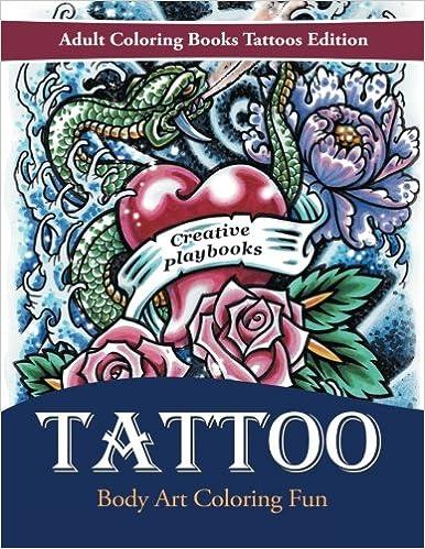 Tattoo Body Art Coloring Fun