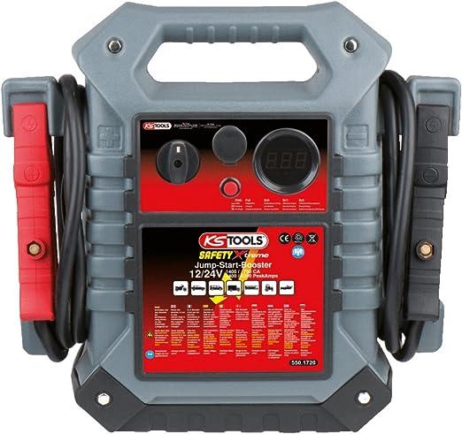 Ks Tools 550 1720 12 V 24 V Batterie Booster Mobiles Starthilfegerät 1400 A Auto