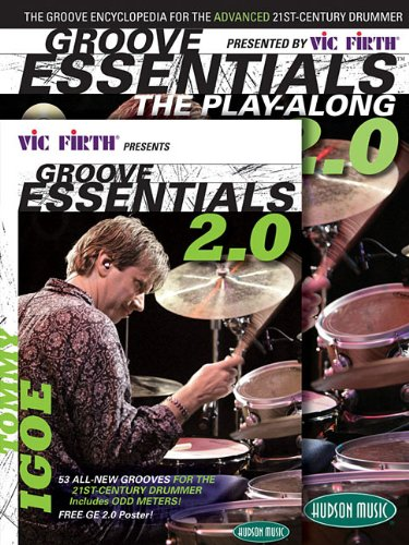 Vic Firth  Presents Groove Essentials 2.0 with Tommy Igoe: Book, CD, DVD combo pack