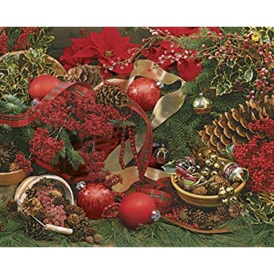 Springbok Colors Of Christmas 2000 Piece Jigsaw Puzzle By Springbok Puzzles