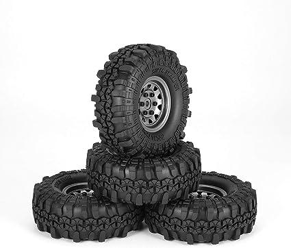 Tree-on-Life 4 Unids 1.9 Pulgadas 110mm Neumáticos de Goma ...