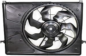 Sunbelt Radiator And Condenser Fan For Hyundai Sonata HY3117101 Drop in Fitment