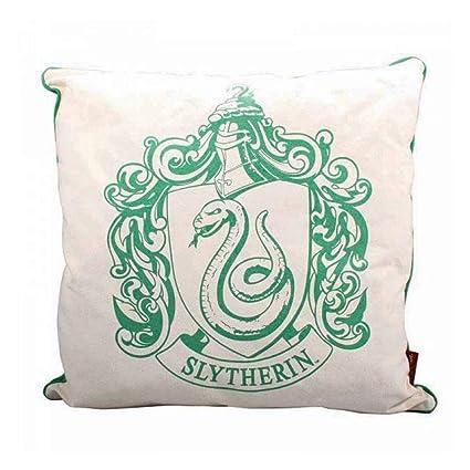 Harry Potter - Cojín con Escudo de Slytherin (46 x 46 cm ...