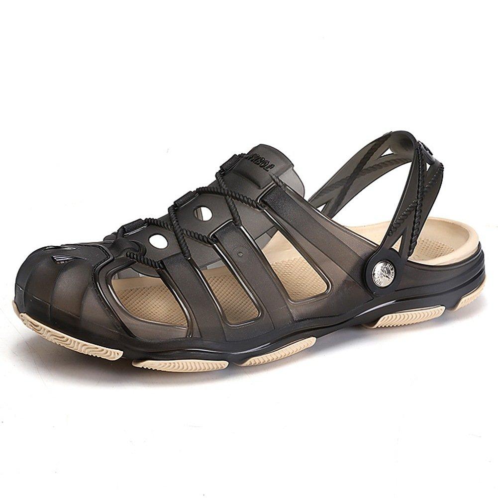 mens garden clogs anti slip beach shower sandals slip on massage outdoor walking summer slippers - Mens Garden Shoes