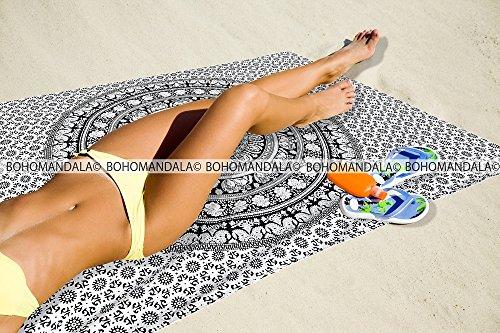 Elephant Tapestries Traditional Bedspread Bohomandala product image