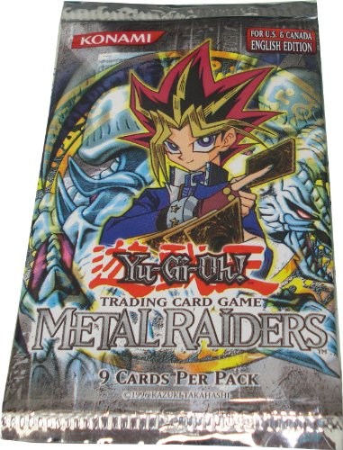 Yu-Gi-Oh Cards - Metal Raiders - Booster Pack Photo