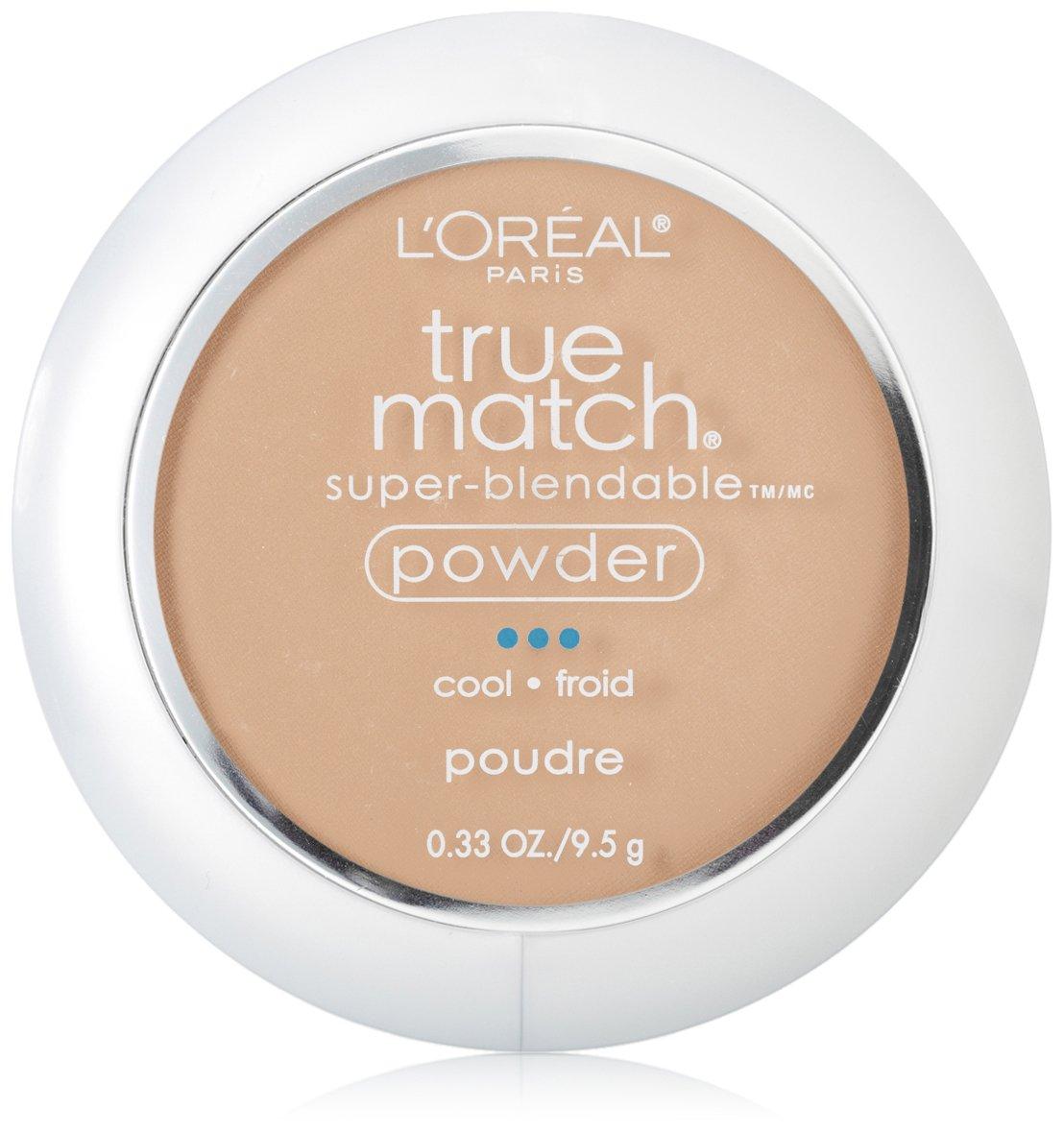 L'Oréal Paris True Match Super-Blendable Powder, Creamy Natural, 0.33 oz.
