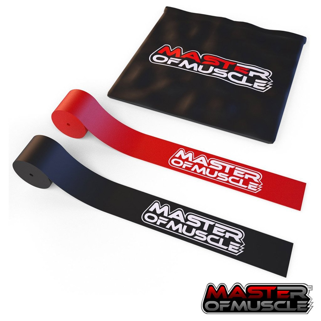 Special Deal: Floss Bands - for Muscle Compression - Mobility and Recovery - Includes 2 x Flossing Bands for All Areas of The Body - Carrying Case and Bonus Ebook Included