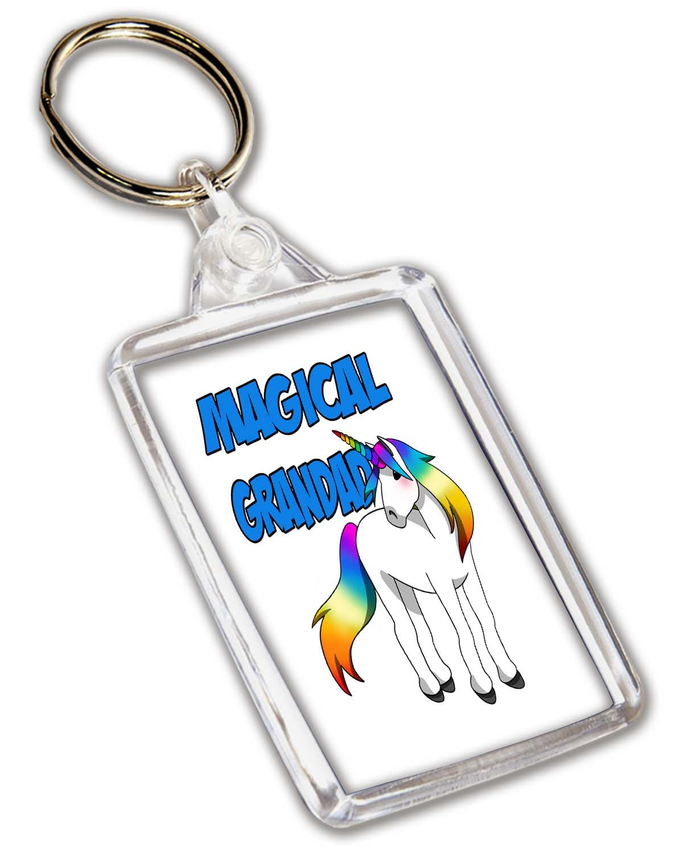 Llavero con diseño de unicornio - cumpleaños - Día del padre ...