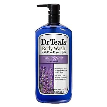 Amazon.com: Dr Teals Pure Epsom Salt Body Wash Chupete e ...