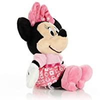 KIDS PREFERRED Disney Baby Minnie Mouse Stuffed Animal Plush Toy Mini Jingler, 6.5...