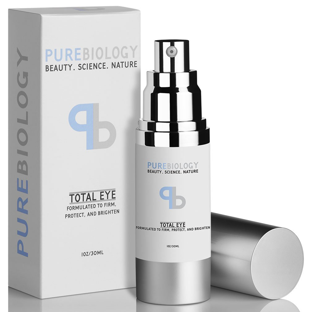 3. Pure Biology Total Eye Cream