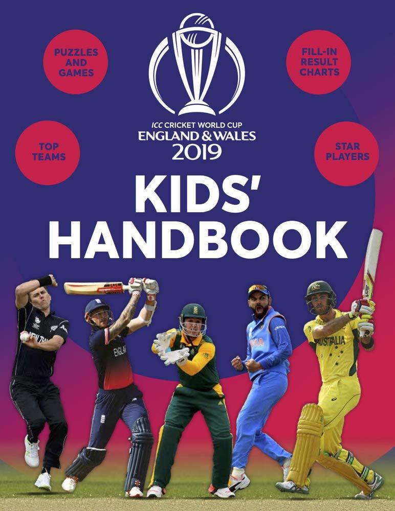 ICC Cricket World Cup 2019 Kids' Handbook: Amazon co uk