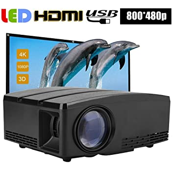 Garsent Proyector LED, 1800LM Full HD 1080P Videoproyectores ...