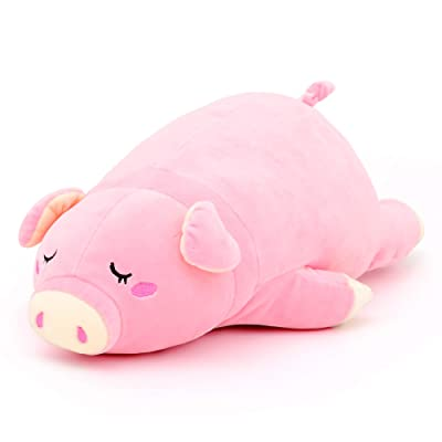 Lazada Pig Pillow Plush Toy Stuffed Piggy Pillow Pet for Girls Gifts 16 Inches: Baby