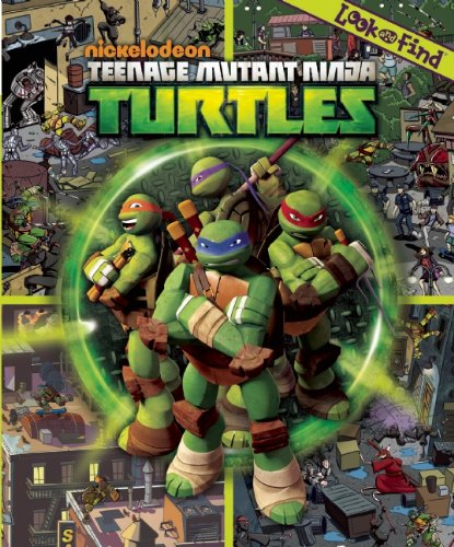 Teenage Mutant Ninja Turtles (Nickelodeon) Look And Find® Book Hardcover (PiKids Media) Phoenix International - ISBN 9781450819725