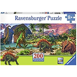 Ravensburger Puzzle La Tierra de los Dinosaurios
