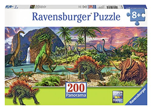 Ravensburger In the Land of the Dinosaurs Panorama Puzzle (200 Piece)