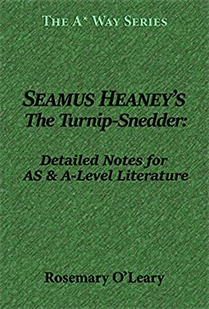 seamus heaney the turnip snedder essay Never before has there been a single-volume anthology of modern irish poetry so significant and  including seamus heaney and michael  the turnip-snedder.