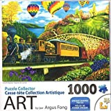 Puzzle Collector Art 1000 Piece Puzzle - County Express By Argus Fong by George