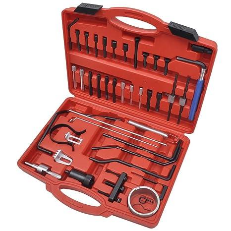 Weilandeal Set herramientas para cambiar correa de distribucion Citroen&Peugeot Herramientas de distribucionApropiado para motores: