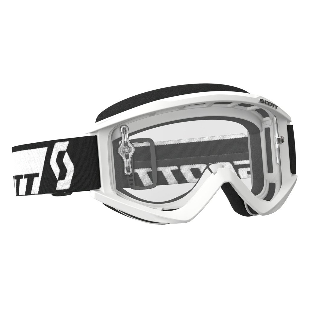 Scott Sports USA Unisex-Adult Recoil Xi Goggles (White/ Clear Works, One Size)