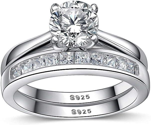 Eternally Sterling Silver Cubic Zirconia /'Love/' Ring