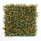 "ULAND Artificial Boxwood Faux Leaf Privacy Fence Screen Decoration Panels Windscreen Patio 20""x20"" (6 pack or 12 pack)"