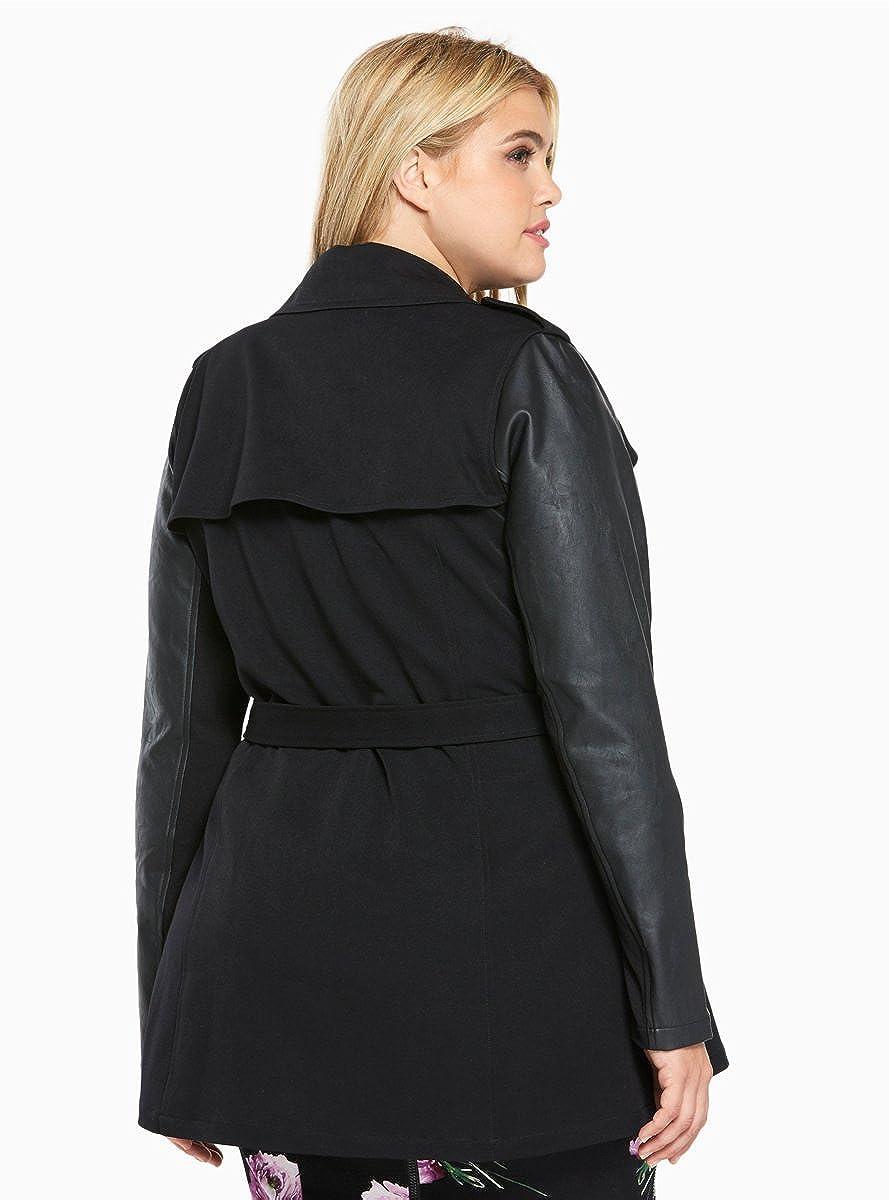 7a3832a1229 Torrid Trench Coat at Amazon Women s Coats Shop