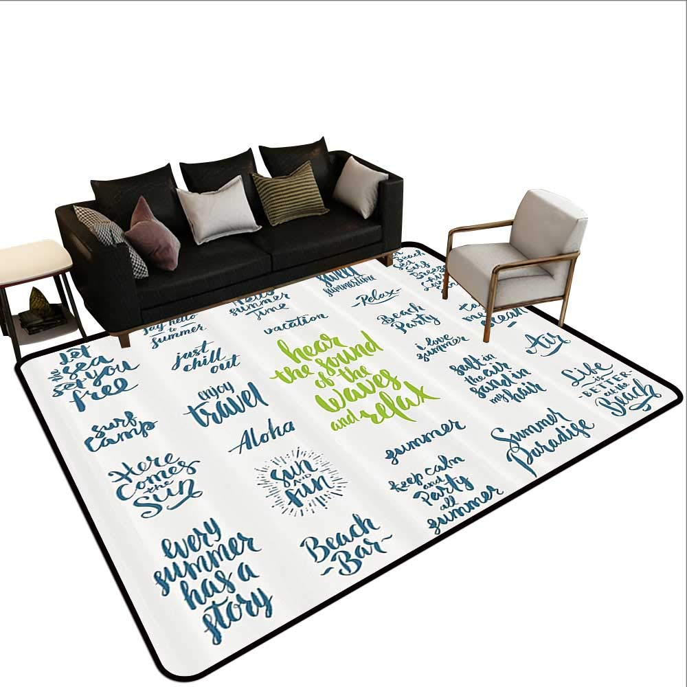 Amazon.com: Rugs for Kitchen Floor,Quotes Decor Collection ...