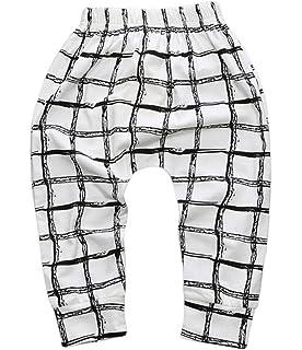 COMVIP/® Sommer Kind Junge M/ädchen Schlaghose Lange Hosen Jogpants Sweathose Jogpants Pumphose 70 Bilder # A