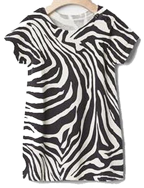7a0e710001b3 Amazon.com  Baby Gap Girls Gray White Zebra Sweater Dress 6-12 ...