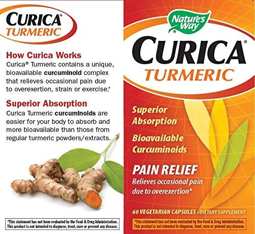 61l5j7Qf8CL - Nature's Way Curica Turmeric Vegetarian Capsules, 60 Count