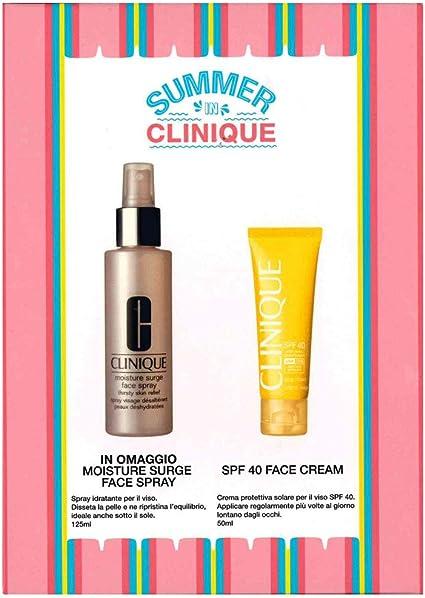 Clinique Routine - Estuche solar para el rostro, protección SPF40 + hidratación: Amazon.es: Belleza