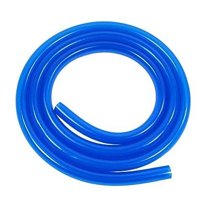 Universal 1 m manguera de combustible 5 mm x 8 mm Azul ...