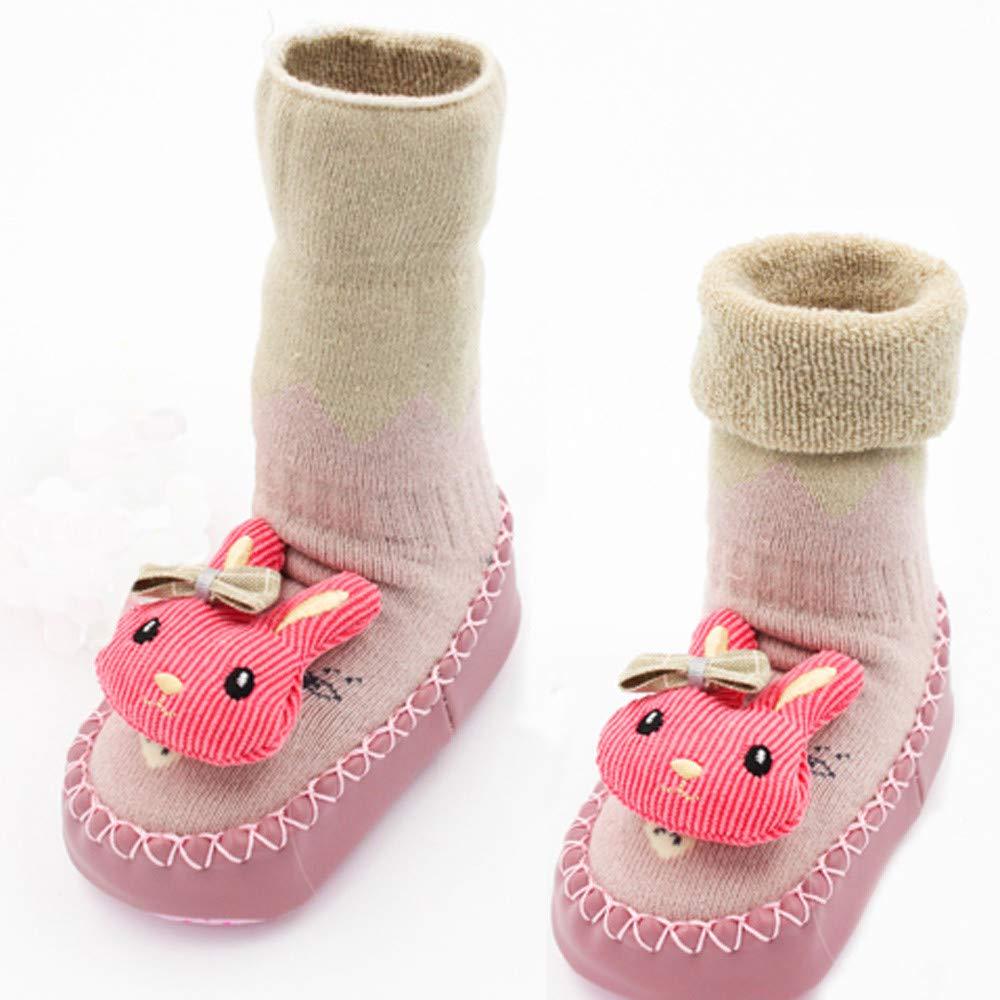 IGEMY_baby - Zapatos Primeros Pasos de algodón para niña marrón café 6-9Months: Amazon.es: Jardín
