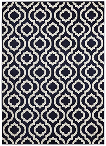 ( 8' x 10' Area Rug ) Diagona Designs Contemporary Moroccan Trellis Geometric Design Area Rug, 94