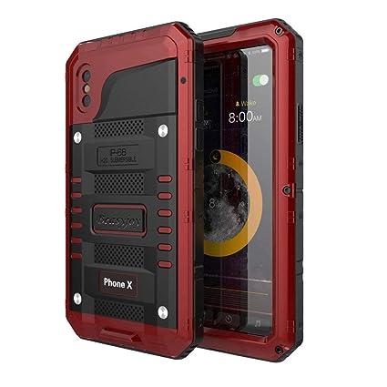 Amazon.com: Beasyjoy - Carcasa impermeable para iPhone XS ...