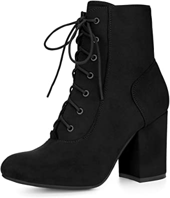 Womens Ladies Point Em To Me Buckled Shoe Size 3-8 Zipped Lace Up Ankle Boots