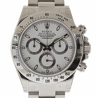 b53ec0758ae09 Amazon.com: Rolex Daytona Swiss-Automatic Male Watch 116520 ...