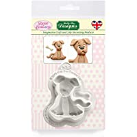 Dog Silicone Mould for Clay, Ceramics, Cake Decorating