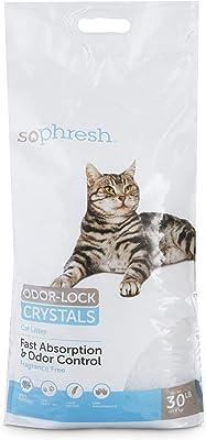 Odor-Lock Crystal Cat Litter