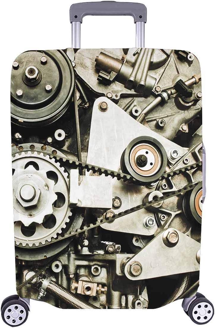 El Motor del Auto Deportivo se Adapta a Steampunk Travelers Choice Equipaje de Viaje con Ruedas giratorias Maleta para Equipaje de 20 Pulgadas