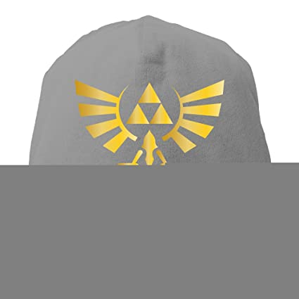 f0ff95df6d9 YUVIA The Legend Of Zelda Men s Women s Patch Beanie CampingDeepHeather Hat  For Autumn And Winter