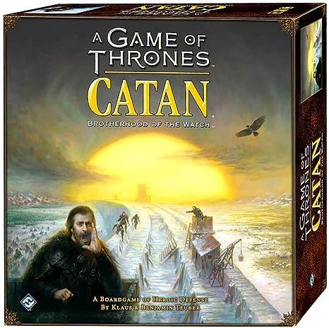 CATAN Juegos de Tronos, Brotherhood of The Watch: Amazon.es ...